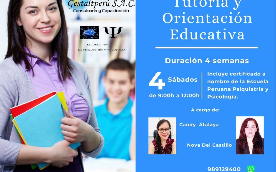 Curso Virtual Tutoría y Orientación Educativa